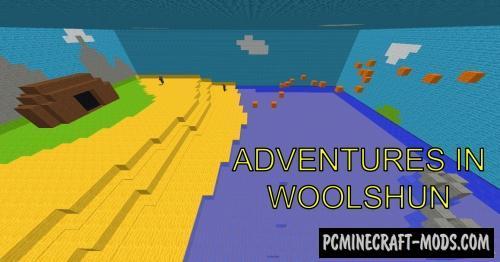 Adventures In Wollshun Map For Minecraft