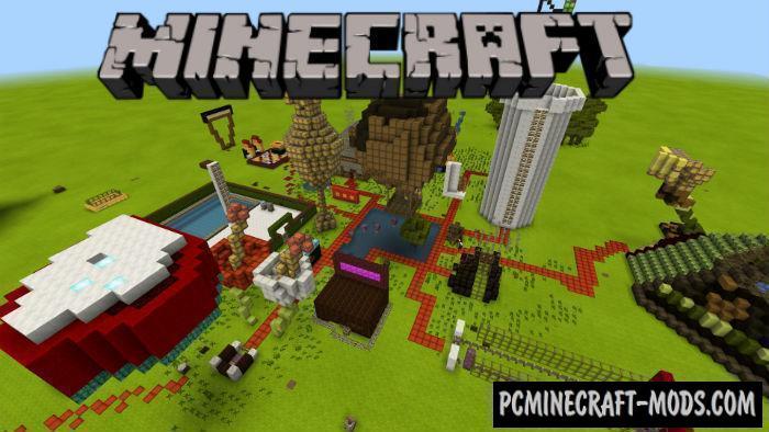 Vanilla Craft Minecraft PE Bedrock Edition Map 1.5.0, 1.4.0