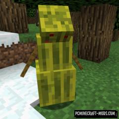 Melon Golem - New Mob Mod For Minecraft 1.16.5, 1.12.2