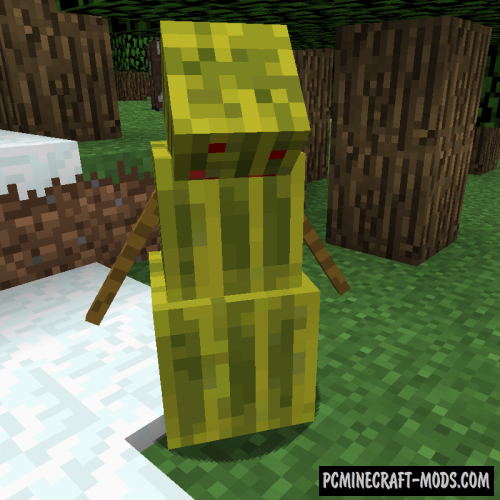 Melon Golem Mod For Minecraft 1.12.2