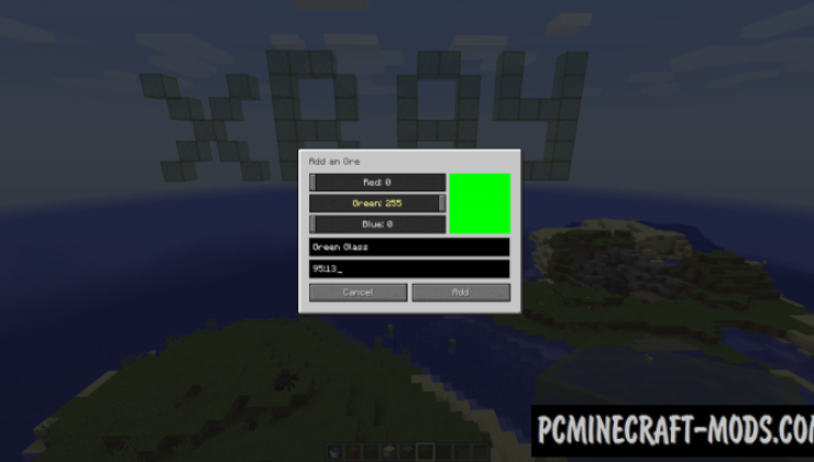 Advanced XRay Mod For Minecraft 1.12.2, 1.11.2, 1.10.2, 1.7.10