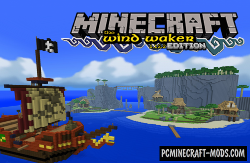 Wind Waker Edition Resource Pack For Minecraft 1.12.2