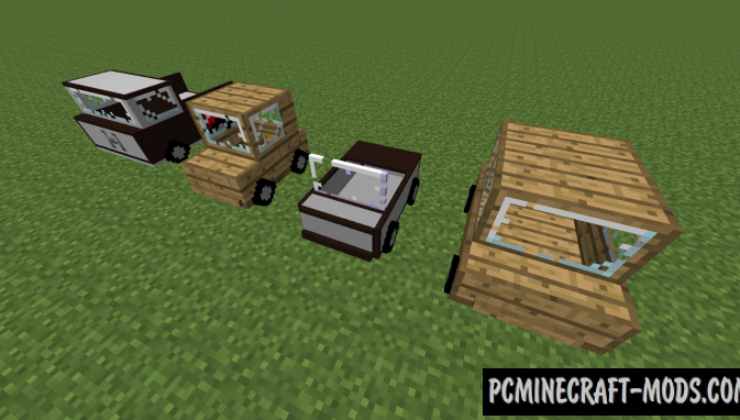 Ultimate Car Mod For Minecraft 1.12.2, 1.11.2, 1.10.2