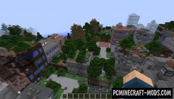 The Lost Cities Mod For Minecraft 1.12.2, 1.11.2, 1.10.2