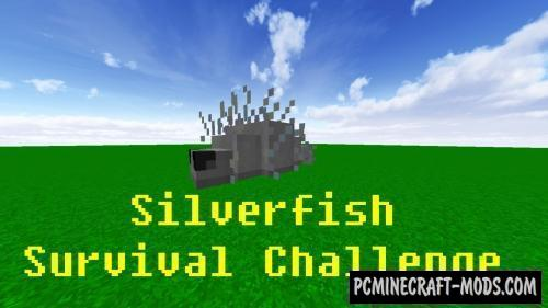 Silverfish Survival Challenge Command Block For Minecraft 1.12.2