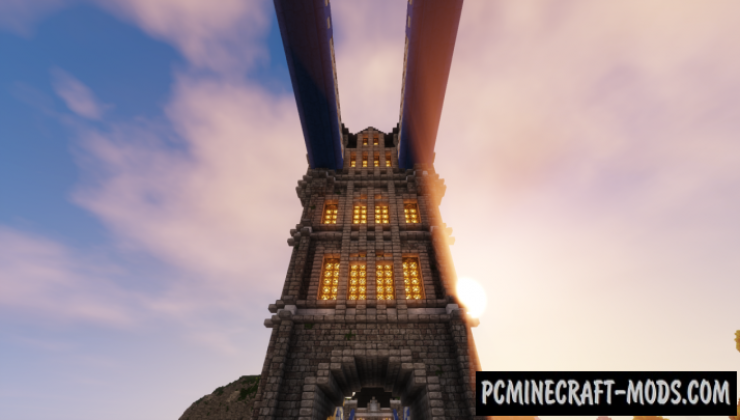 Tower Bridge Map For Minecraft