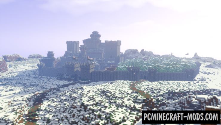 Winterfell Map For Minecraft