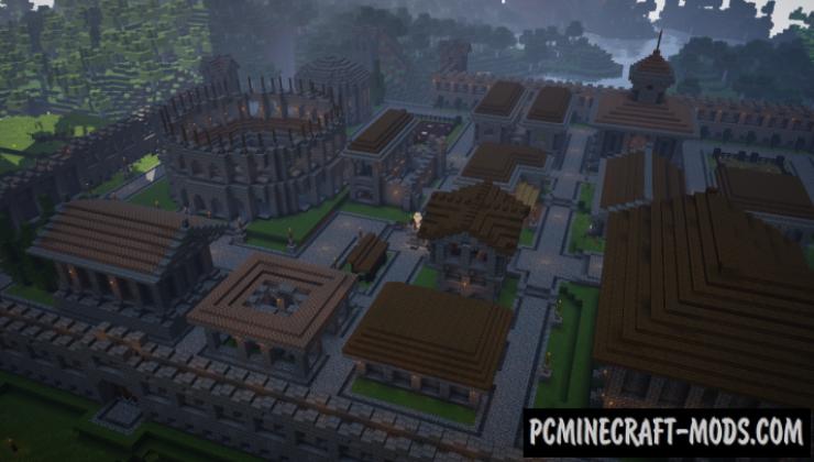 Novum Helinium Map For Minecraft