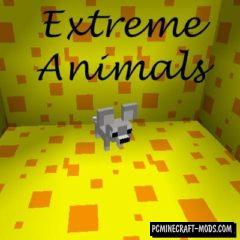 Extreme Animals Mod For Minecraft 1.12.2, 1.10.2