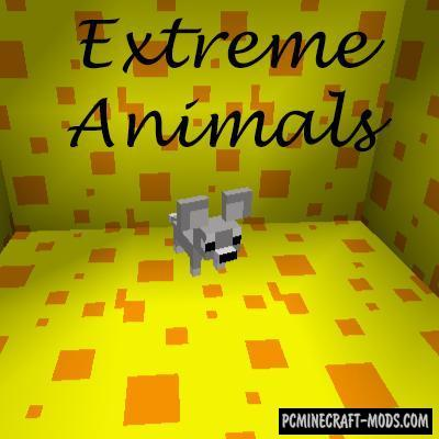 Extreme Animals Mod For Minecraft 1.10.2