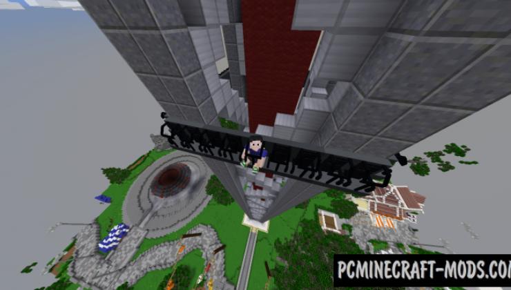 Herofair Amusement Park Map For Minecraft