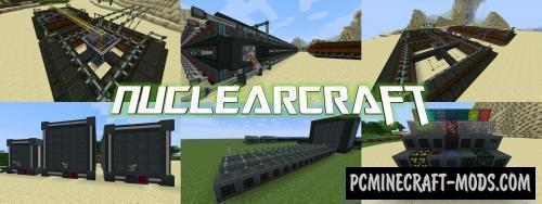 NuclearCraft - Industrial Tech Mod For Minecraft 1.12.2