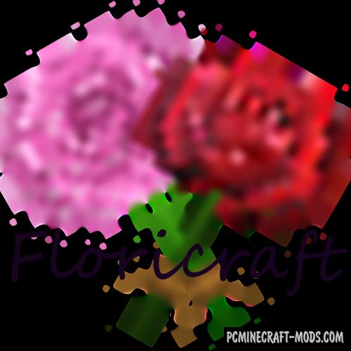 Floricraft Mod For Minecraft 1.12.2, 1.11.2, 1.10.2