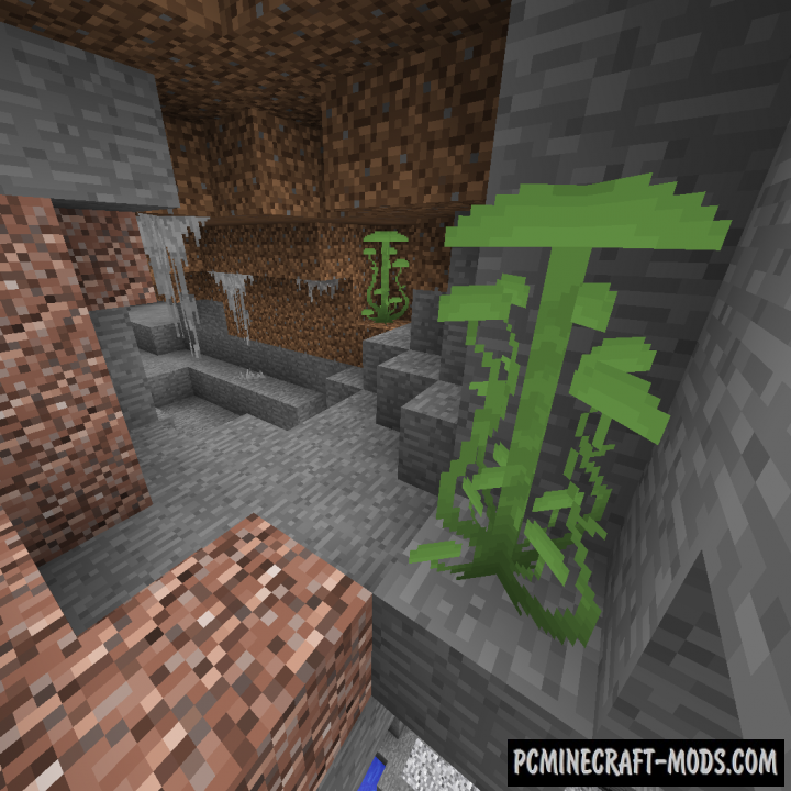 Better Underground Mod For Minecraft 1.12.2