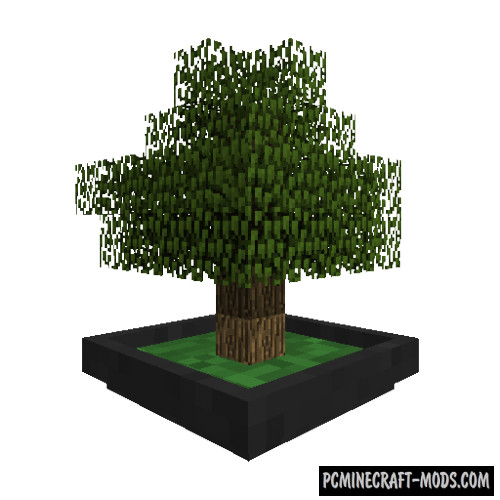 Bonsai Trees Mod For Minecraft 1.12.2