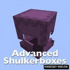 Advanced Shulkerboxes Mod For Minecraft 1.13.2, 1.12.2, 1.11.2