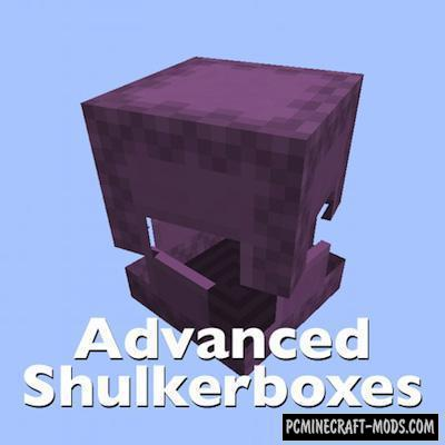 Advanced Shulkerboxes Mod For Minecraft 1.13, 1.12.2, 1.11.2