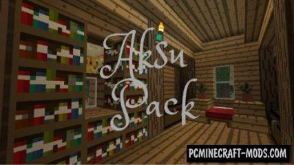 Aksu Resource Pack For Minecraft 1.12.2