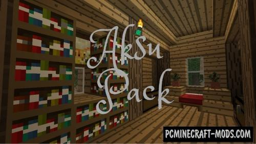 Aksu Resource Pack For Minecraft 1.12.2