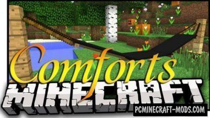 Comforts - Decor Mod For Minecraft 1.15.2, 1.14.4, 1.12.2