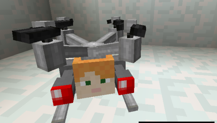 Drones Mod For Minecraft 1.12.2, 1.11.2, 1.10.2