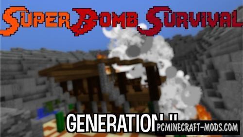 Super Bomb Survival Gen II Map For Minecraft