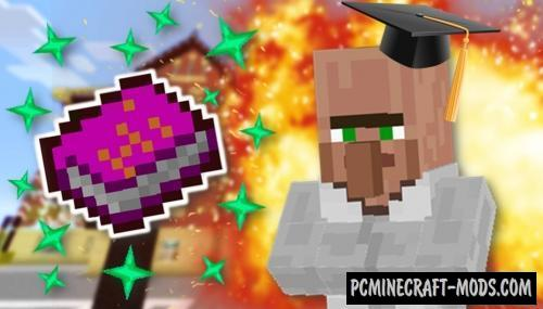 MagicBooks Mod For Minecraft 1.12.2, 1.12.1