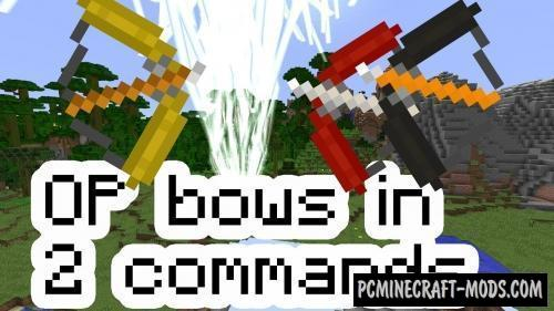 Op Bows Command Block For Minecraft 1.12.2