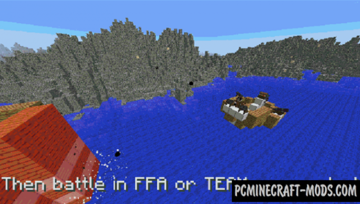Raft Clash Map For Minecraft