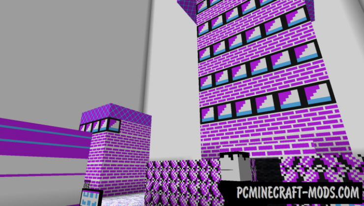 Lavender Town - Adventure Map For Minecraft