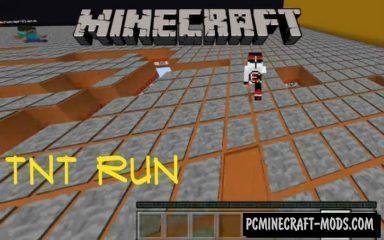 TNT Run Minecraft PE Map 1.3.0, 1.2.11, 1.2.10