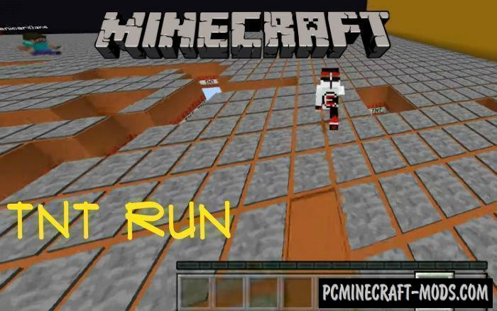 TNT Run Minecraft PE Map 1.5.0, 1.4.0, 1.2.13