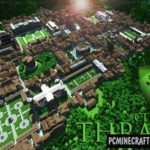 Epic Médiéval City Map For Minecraft