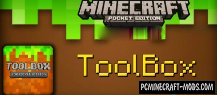 ToolBox Apk Mod 4 3 6 4 For Minecraft PE 1 9 0, 1 8 0 | PC