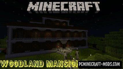 Woodland Mansion Minecraft PE Map 1.4.0, 1.2.13