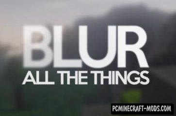 Blur - GUI/HUD Mod For Minecraft 1.17, 1.16.5, 1.12.2
