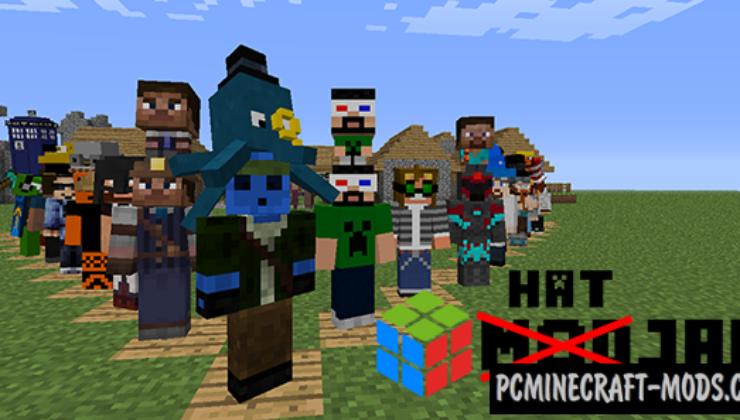 iChun's Hats Mod For Minecraft 1.12.2, 1.10.2, 1.7.10