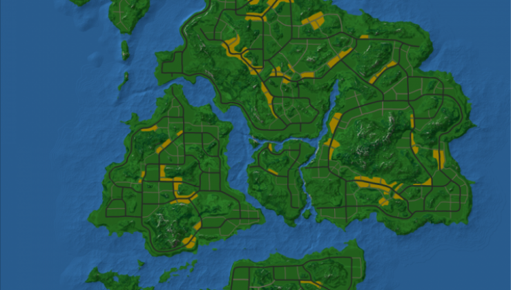 Barobo islands Map For Minecraft