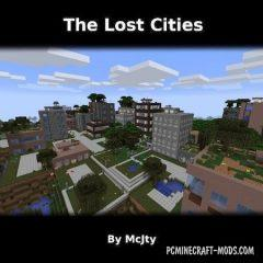 The Lost Cities - Biome Gen Mod For MC 1.16.5, 1.12.2