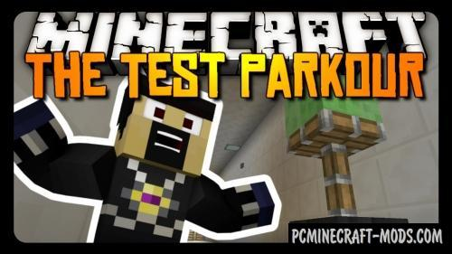 The Test Map For Minecraft