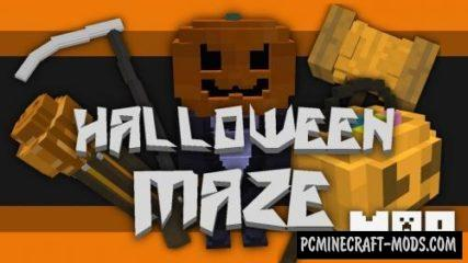 Halloween Maze Map For Minecraft
