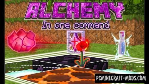 Alchemy Command Block For Minecraft 1.12.2