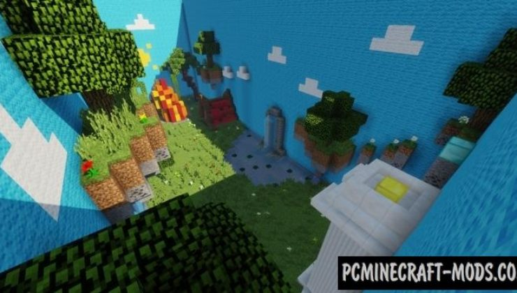 The Biome Parkour! Map For Minecraft