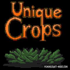 Unique Crops - Farm Mod For Minecraft 1.12.2