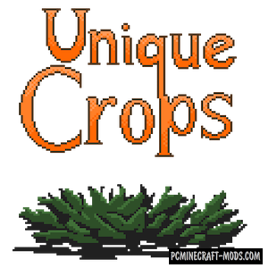 Unique Crops - Farm Mod For Minecraft 1.12.2