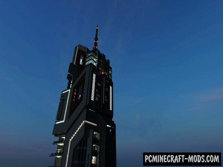 The W.S.Craft Tower Map For Minecraft