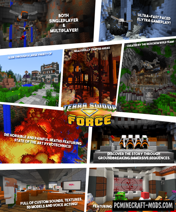 Terra Swoop Force Map For Minecraft