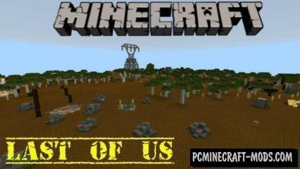 Last of US Minecraft PE Bedrock Edition Map 1.9, 1.8, 1.7