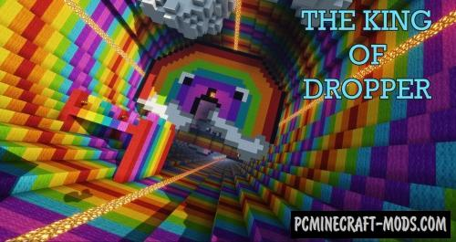 The King Of Dropper Map For Minecraft