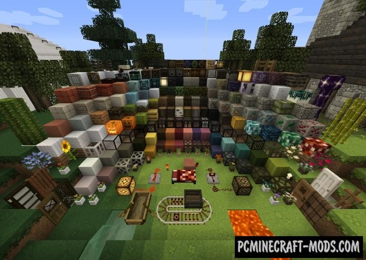 Mizuno's 16 Resource Pack For Minecraft 1.12.2, 1.12, 1.11.2